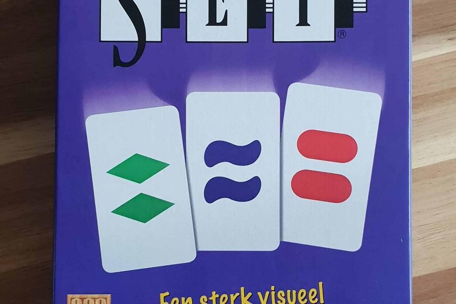 set kaartspel voorkant doos